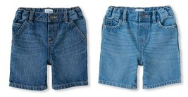 The Childrens Place Toddler Boys Jean Shorts Size 12-18 Months NWT - $9.09