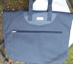 1998 Inaugral Cruise Ms. Rotterdam garment bag soft blue syntetic material - $20.00