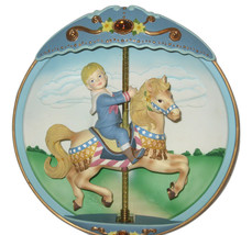 The BradfordExchange Musical Plate Carousel Day... - $19.34