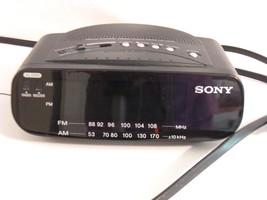Sony Clock Radio Dream Machine ICF C212 AM-FM A... - $12.59