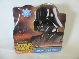 Disney Star Wars Puzzle NEW Darth Vader Collector's Tin 1000 Piece Cardinal - $11.87