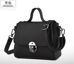 Women Leather Shoulder Bags Small New Fashion Tote Bags H080-1 - $37.99