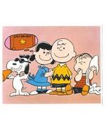 Peanuts  GH Charlie Brown Comic Strip Vintage 11X14 Color TV Memorabilia... - $12.95