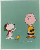 Peanuts Charlie Brown Woodstock Vintage 11X14 Color TV Memorabilia Photo - $9.95