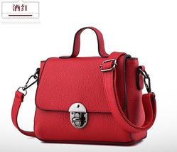 Free Shipping Women Leather Shoulder Bags Mixed Color Tote Bags H080-3 - €34,42 EUR