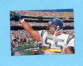 1996 Stadium Club Junior Seau Matrix Parrell Chargers - $1.50