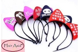 Fun, printed cat-ear headbands (ships from USA) - $94,15 MXN