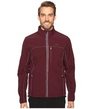 New Fila Men's ADVENTURE Softshell Jacket SIZE L Large Wine/castlerock N... - $57.42