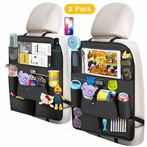 YMD Backseat Car Organizer, Car Seat Organizer with 4 USB Charging Port 11 inche