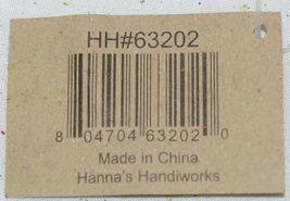 Hanna's Handiworks 63202 Red Glittery Santa Glove Wall Hanger image 9
