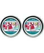 Premium 100% All Natural Soy Candles - Set of 2 - 2oz Tins -Pink Sugar: ... - $11.98