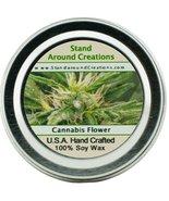 Premium 100% All Natural Soy Wax Aromatherapy Candle - 2oz Tin - Cannabi... - $6.99