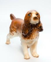 Cocker Spaniel Dog Ceramic Figurine Vintage Med Size - $18.80