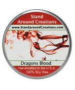 Premium 100% Soy Tureen Candle - 8 oz. - Dragon's Blood - A potent earth... - $13.99