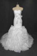 Mermaid Wedding Dresses,Wedding Gown,Bridal Dress Ivory Cheap - $299.00