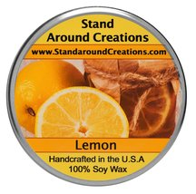 Premium 100% All Natural Soy Tureen Candle - 3 oz. - Lemon - True to the... - $9.99