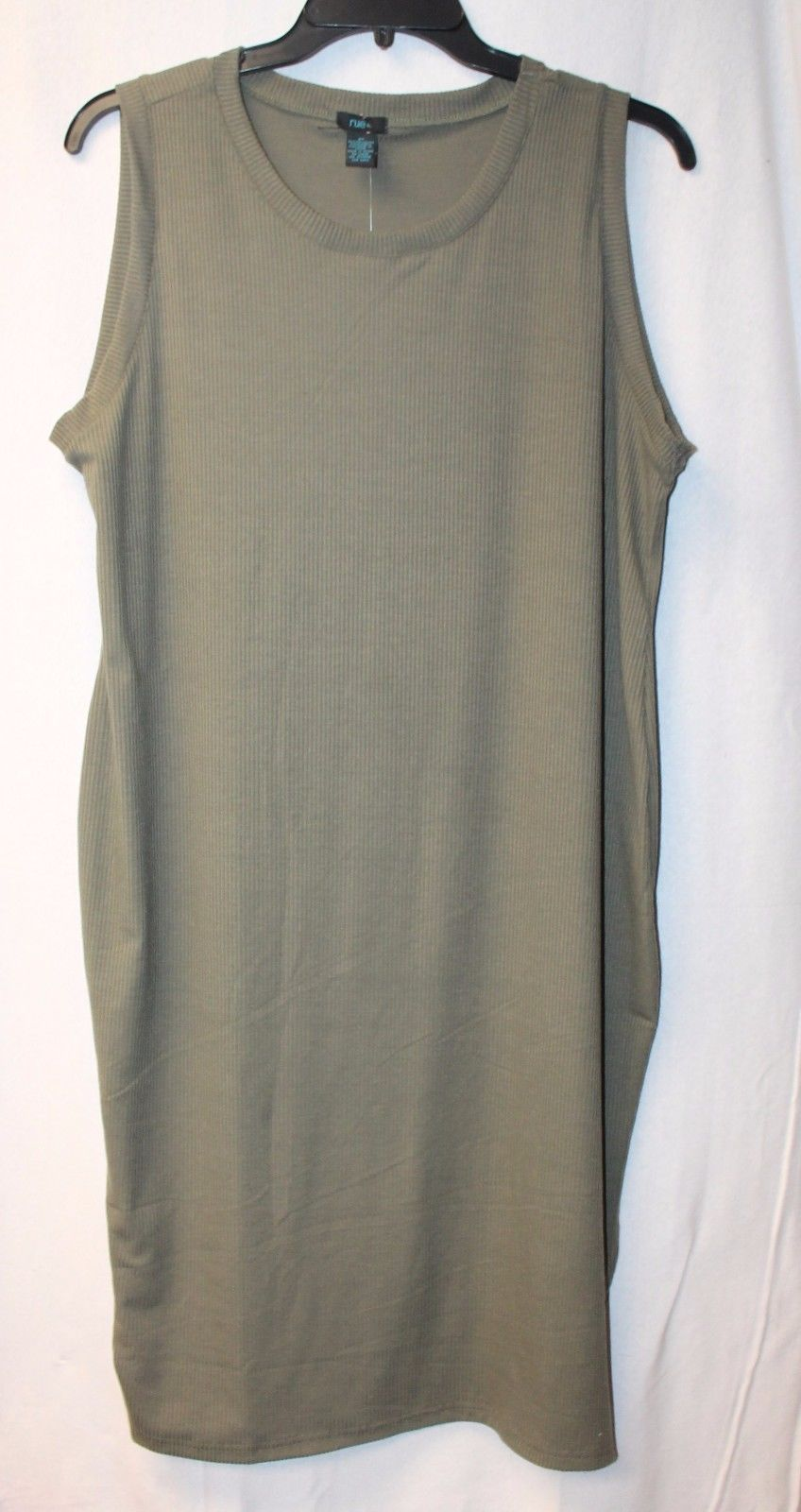 e3a086db3e5 New Womens Plus Size 3X Olive Green Ribbed and 40 similar items. S l1600