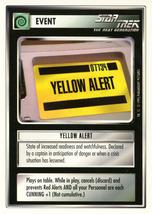 Star Trek CCG - Yellow Alert - $0.69