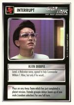 Star Trek CCG - Alien Groupie - $0.65