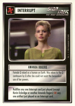 Star Trek CCG - Amanda Rogers - $1.59