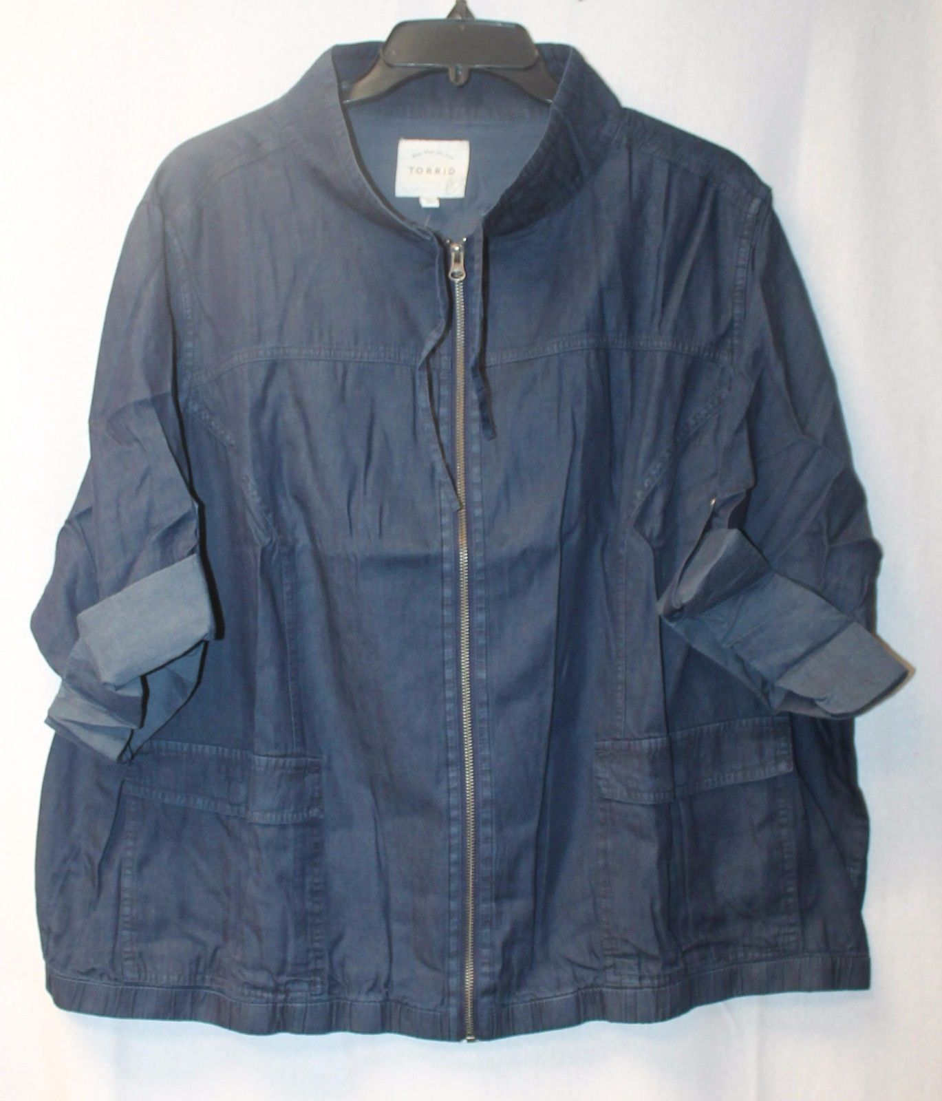 2e702aa089c Cool New Torrid Womens Plus Size 4X 4 Blue and 50 similar items. S l1600