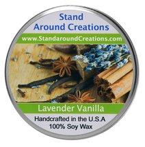 Premium 100% Soy Tureen Candle 8 oz. - Lavender Vanilla- Herbal lavender... - $13.99