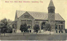 Ohio State University vintage 1911 Post Card  - $7.00