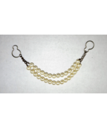 Vintage Faux Pearl Collar Guard - $17.33