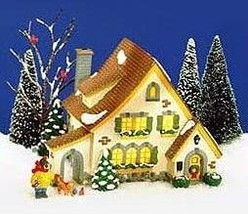 Dept 56 Original Snow Village Carmel Cottage 5466-6 - $59.98