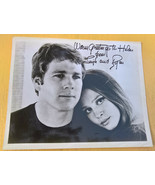 AUTOGRAPHED Ryan O'Neal Leigh Taylor-Young Photo Movie & TV Stars The Big Bounce - $37.99