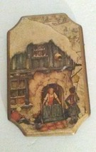 "Vintage Wood Plaque Wall Art Rustic Country 5.25"" X 3.25"" USA MADE Garla... - $14.46"