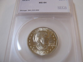 1979-P, Susan B. Anthony Dollar , Uncirculated , A Beautiful Coin - $22.00