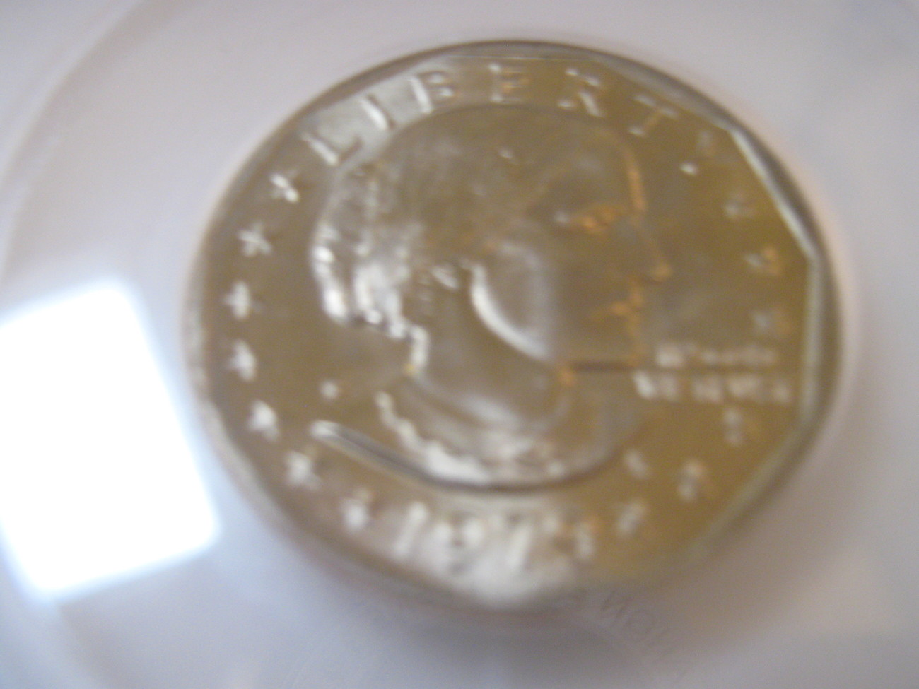 1979-P, Susan B. Anthony Dollar , Uncirculated , A Beautiful Coin