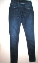 New Womens James Jeans Designer 25 Skinny Mediterranean Twiggy Dark Blue... - $115.60