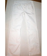 New Womens 7 For All Mankind White Jeans 28 Dojo Crystals Bootcut Design... - $112.00