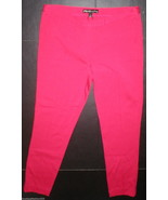 New Womens 8 Elizabeth and James Office Skinny Professional Pink Knit Pa... - $295.00