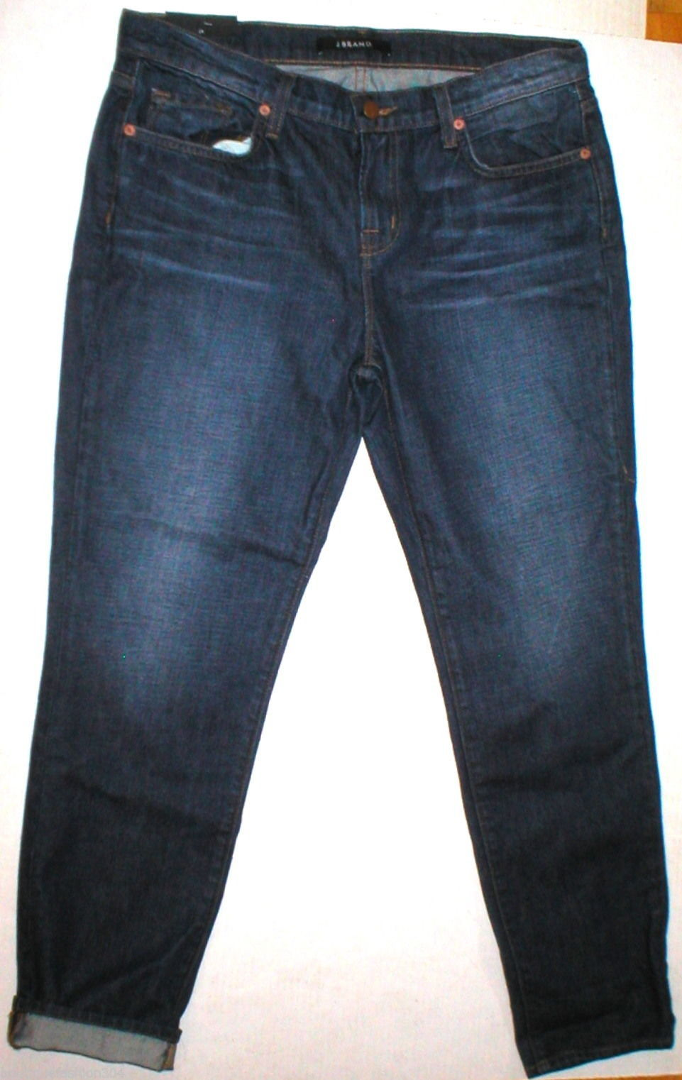 New J Brand Jeans Dark Womens NWT Aidan Slouchy Boy Jean 29 Ringer