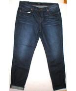 New J Brand Jeans Dark Womens NWT Aidan Slouchy Boy Jean 29 Ringer - $144.50