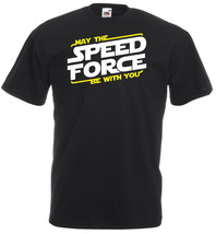 May The Speed Force Be With You Inspired ,T-shirt,100% Cotton, Men - $15.99 - $18.99