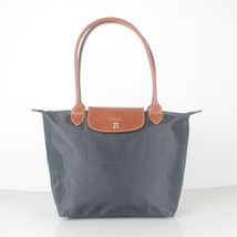 Longchamp Le Pliage Small Nylon Tote Bag Graphite 2605089897 - $75.00