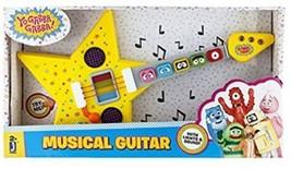 YO GABBA GABBA Feature Guitar Musical Instrument TV Show Lights Songs G... - $46.71