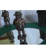 The Share Cropper Antique Iron Bank A C Williams Company Raveena Ohio 1912 - $195.00