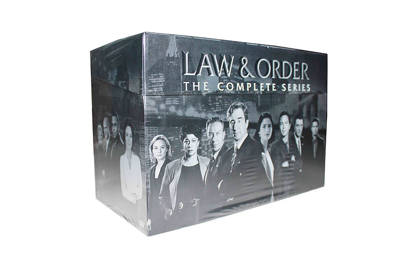 Law & Order The Complete Series Seasons 1-20 DVDs 104 Disc Box Set Free Shipping