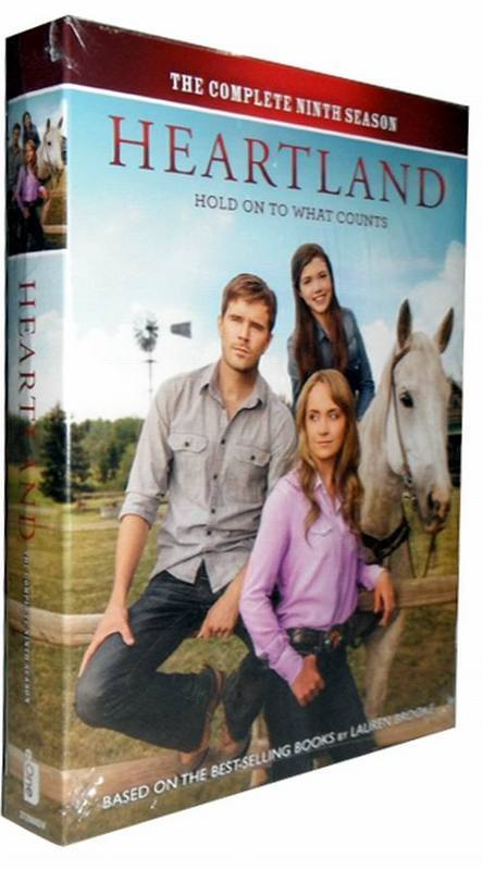 New Heartland: Hold On To What Counts Season 9 DVD 5 Dsic Box Set Free Shipping