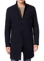 Michael Kors Men's Double Face Donegal Wool Blend Button-Front Overcoat ... - $247.49