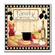 The Stupell Home Decor Collection Family Blessings Wall Plaque - $18.59