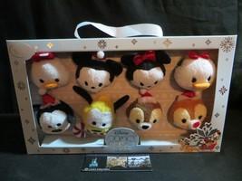 Disney Store Authentic USA Mickey Mouse, Minnie Mouse, ++ Tsum Tsum Chri... - $59.23
