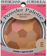 PHYSICIANS FORMULA* Powder Palette #3869 LIGHT BRONZER Multi-Colored Lig... - $13.97