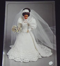 Annie's Attic Fashion Bed Doll Bride Crochet Pattern 1994 Gibson Girl  - $6.70