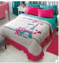 Teens Love Paris Bedspread and Sham Set (full/queen size) - $79.20